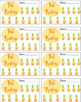 Tropical Classroom Fab Friday Punch Cards