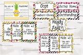 Tropical Classroom, Pineapple Classroom Decor Bundle pack
