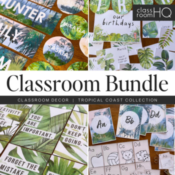 Tropical Classroom Resources - The GROWING BUNDLE