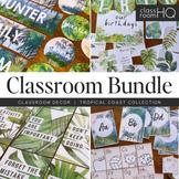 TROPICAL Classroom Decor - The GROWING BUNDLE