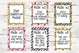 Tropical Classroom Rules, Pineapple Decor, Watermelon Deco