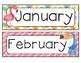 Tropical Calendar Set