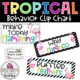 Tropical Classroom Theme Behavior Clip Chart