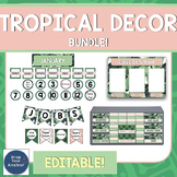 Tropical Classroom Theme Bundle