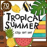 Tropical Clip Art Set