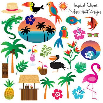 Clipart: Tropical Clip Art