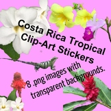 Tropical Costa Rica Sticker Clip-Art