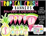 Tropical Crush Decor Collection: Pineapple & Watermelon Bu