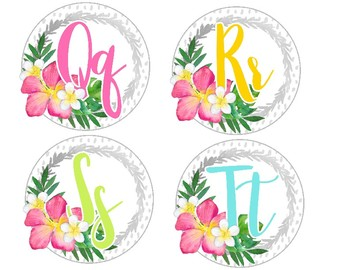 Tropical Crush Decor Collection: Word Wall Labels