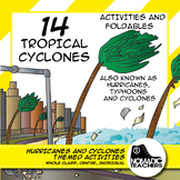 Hurricanes and Cyclones Activities and Foldables - 14 contract activities