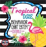 Tropical Daze (pineapple & flamingo) Behavior Chart System *editable*