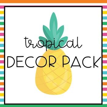 Tropical Decor Pack