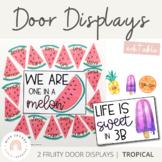 Tropical Door Display | Tropical Fruits