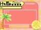 Tropical Editable Templates with Timers - Daily 5, Math Rotations, To Do Lists