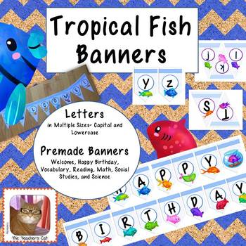 Tropical Fish Banners