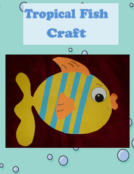 Tropical Fish Craft