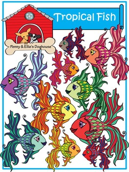 Tropical Fish *Penny & Ellie's Doghouse Clipart*