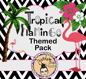 Tropical Flamingo Themed Pack (Personal & Commercial Use)