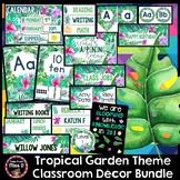 Tropical Garden Classroom Decor Theme