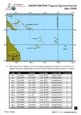 Tropical Cyclone Harold Enquiry