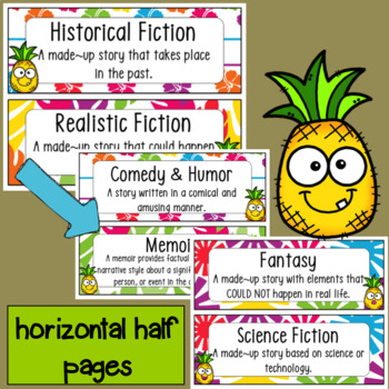 Tropical/Hawaiian Reading Genres