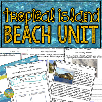 Tropical Island Beach Unit
