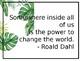 Tropical Jungle Theme Motivational Quotes