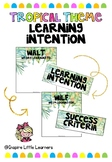 Tropical Learning Intentions WALT/WILF/TIB