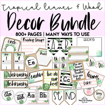 Tropical Leaves Wood Bundle 800 Pages Beach Theme By Alyson Jordan Shop tropical leaves fabric at the world's largest marketplace supporting indie designers. tropical leaves wood bundle 800 pages beach theme