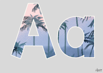 Tropical Letters and Numbers