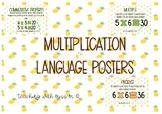 Tropical Multiplication Language Posters #ausbts18
