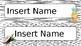 Tropical Name Tags (Editable)