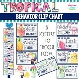 Tropical Theme Behavior Clip Chart