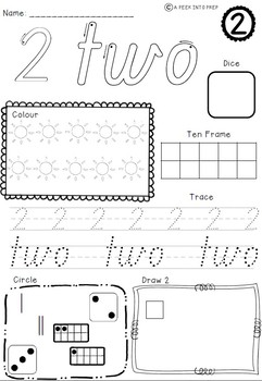 Tropical Numbers 1-10