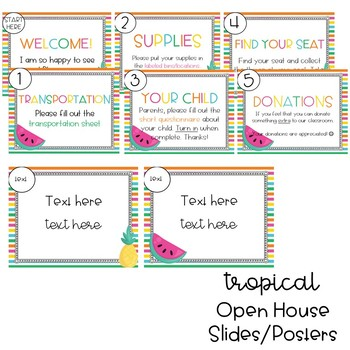 Tropical Open House Stations