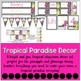 Tropical Paradise   Classroom Decor Set