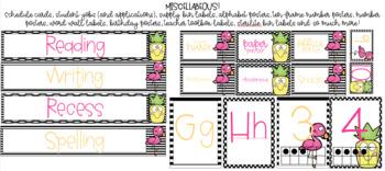 Tropical Paradise | Classroom Decor Set