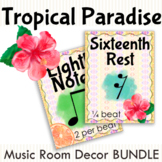 Tropical Paradise Common Time Note Values