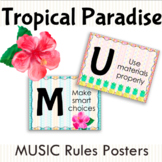 Tropical Paradise MUSIC Class Rules