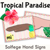 Tropical Paradise Solfege Hand Signs