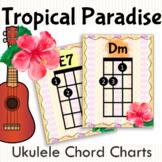 Tropical Paradise Ukulele Chord Charts