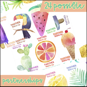 Tropical Partner Match Up
