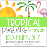 Tropical Posters Freebie