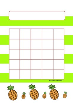 Tropical Reward Charts FREEBIE