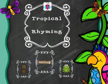 Tropical Rhyming Set