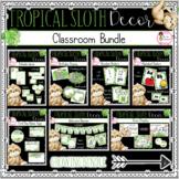Tropical Sloth Classroom Decor Bundle
