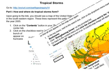 Tropical Storms using ArcGIS