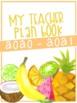 Tropical Teacher Binder