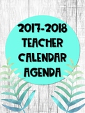 Tropical Teacher Calendar and Agenda