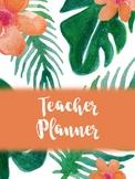 Tropical Teacher Binder 2017-2018